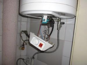 Ремонт на бойлер-смяна на термостат