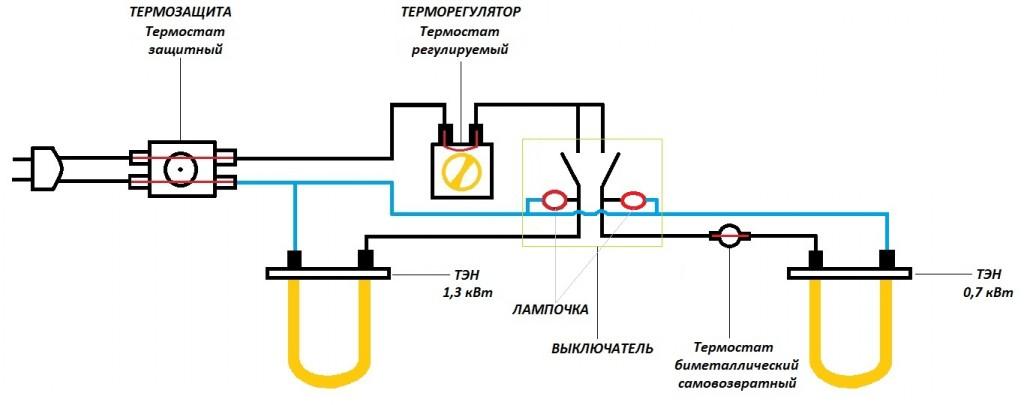 Схема за свързване на бойлер/ източник remonttermexov.ru